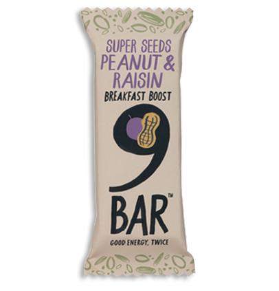 9bar Peanut & Raisin