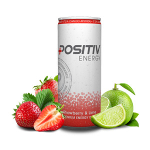 Positive Strawberry & lime